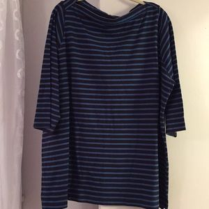 Lands' End Tops - Ladies 3/4 sleeve tunic